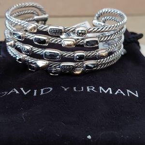 David Yurman 5 row confetti Bracelet